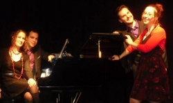 "Recital Opera ""Amour rebelle"" - With Gwendoline Spies, soprano; Geoffrey Degives, tenor; Clarise Spies, recitante & Pablo Garcia-Berlanga, piano - Salle Ysaye, Arlon - 1 Feb 2014"