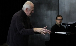 Singing Masterclass with Thomas Allen - Ghent - Nov 2012 - Photo ©Emilie Lauwers