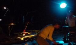 Une triste figure - Emilie Lauwers, visual artist & concept; Christian Lujan, baritone & concept; Pablo García-Berlanga, piano - Bijloke-site, Gent - June 2013