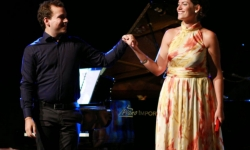Recital with soprano Dolores Lahuerta. Valencia - 3 August 2014 (C) Angel Tejo