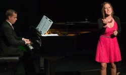 Season opening at Centre Cultural Aubange, Athus, in Belgium with soprano Gwendoline Spies on 13 September 2014 (C) Dominique Linel