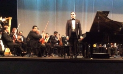 Piano Concerto in G by Maurice Ravel - Orquesta Sinfonica de El Salvador. German Caceres, conductor - Auditorio ILC-FEPADE, San Salvador - 19 & 20 February 2014