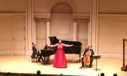 Carnegie Hall - New York. Plaerdemavida Ensemble. March 2019